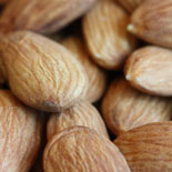 Soaked and sprouted almonds