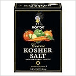 Morton Course Kosher Salt