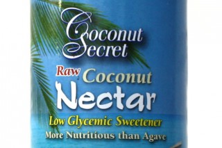Low Glycemic Sweetener label